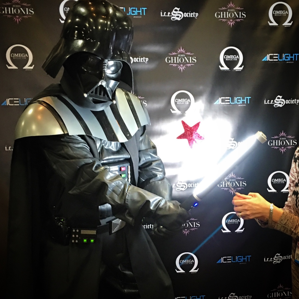 I think when he saw my Pink Glitter Wand, Vader knew I would never embrace the Dark side.
